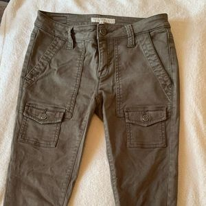 Joie Olive Green Jeans